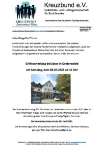 Grillnachmittag @ Landgasthaus Sasse