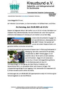 Sommer-Radtour @ Elisabeth-Platz