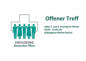 Offener Treff @ Kolpinghaus Rheine-Zentral